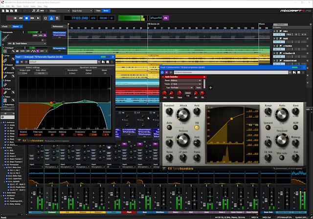 Acoustica Mixcraft Pro Studio 9.0.458 Audio File Editing Download