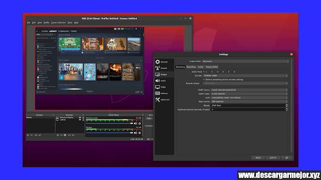Descargar Open Broadcaster Software (OBS)