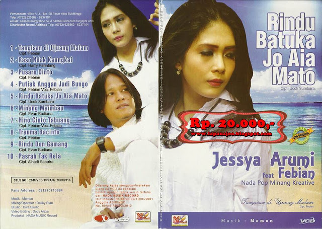 Jessya Arumi Feat Febian - Rindu Batuka Jo Aia Mato (Album Nada Pop Minang Kreatif)