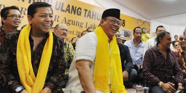 'Badai' di Internal Partai Beringin, Agung Laksono Komentar Tajam, 'Golkar Butuh Pempimpin Segar dan Tidak Bermasalah', Sindir Setya Novanto?