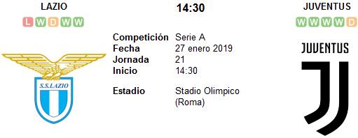 Lazio vs Juventus en VIVO