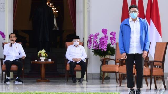 Berhasil Gaet Sandiaga Uno, Jokowi Ingin Jadi King Maker Pilpres 2024?