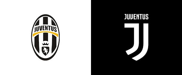 Logo Juventus cũ và mới
