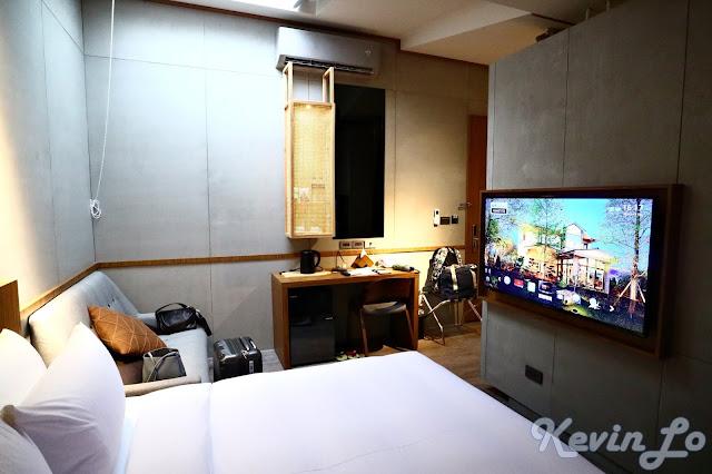 東旅湯宿溫泉飯店-風華漾館房間沒有茶几