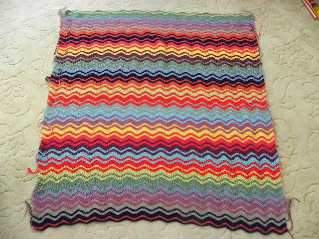 Ripple Crochet Blanket