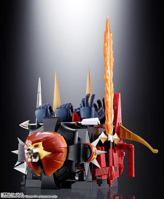 Soul of Chogokin Mirai Robo Daltanious (GX-59R), de Tamashii Nations.