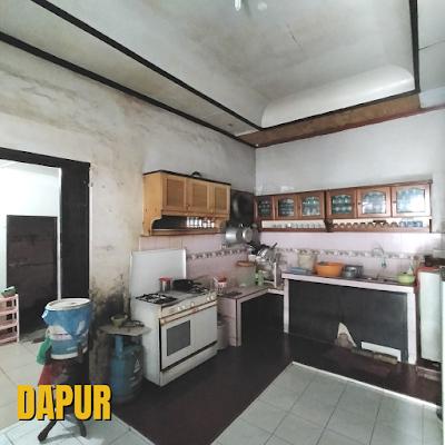 Dapur Rumah Luas Tanah 456 m2 lokasi sekitar Jalan Ayahanda Medan