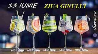 13 iunie: Ziua ginului