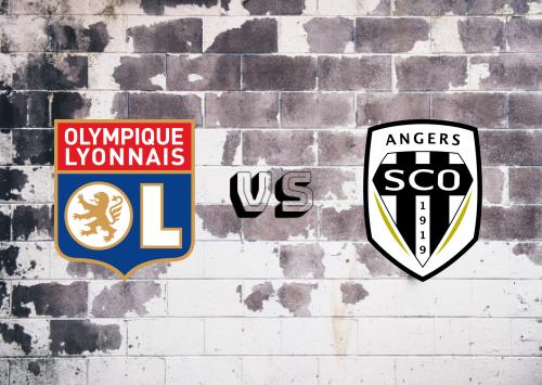 Olympique Lyonnais vs Angers  Resumen
