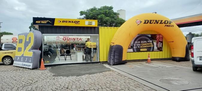 Dunlop amplia rede de containers pelas estradas brasileiras
