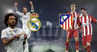 ماتش ريال مدريد أتلتيكو مدريد بث مباشر