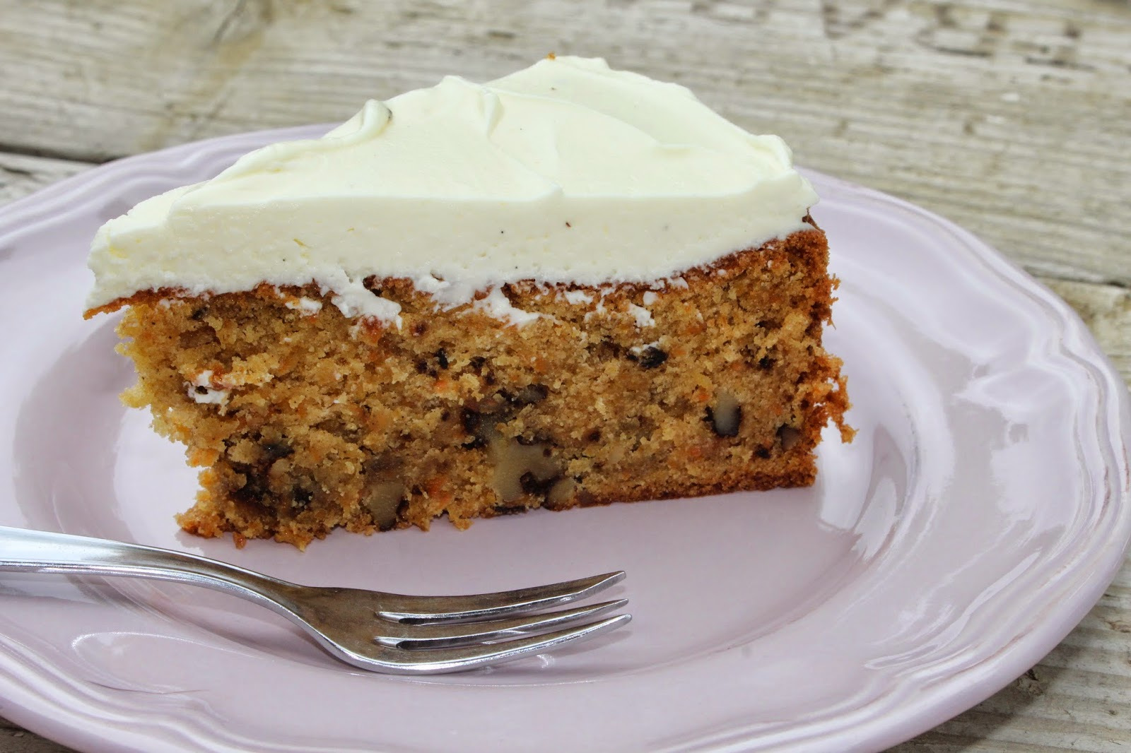 Paulas Frauchen Mohre Walnuss Ananas Kuchen Mit Leckerem