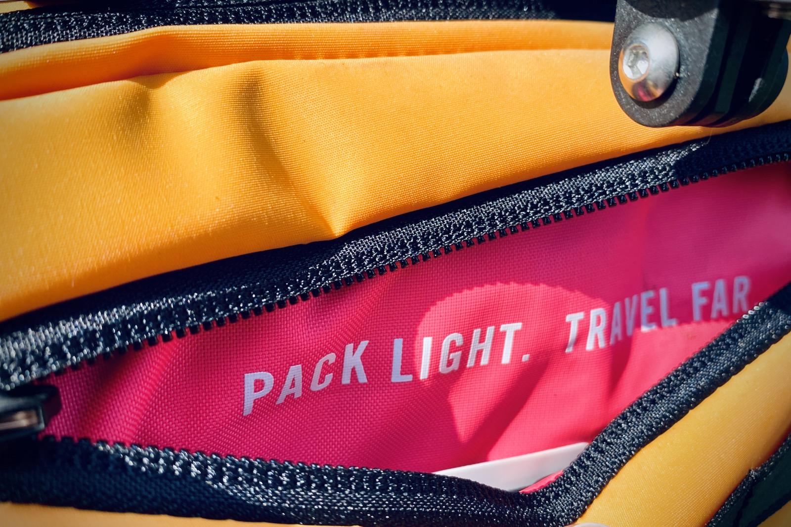 Rapha Compact Handlebar Bag Bikepacking Tim Wiggins
