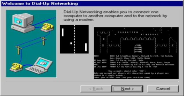 A história da internet aplicada nos games