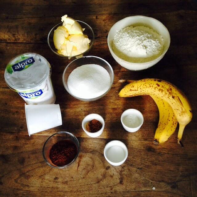 Ein Stuck Heile Welt Schoko Bananen Kuchen Vegan