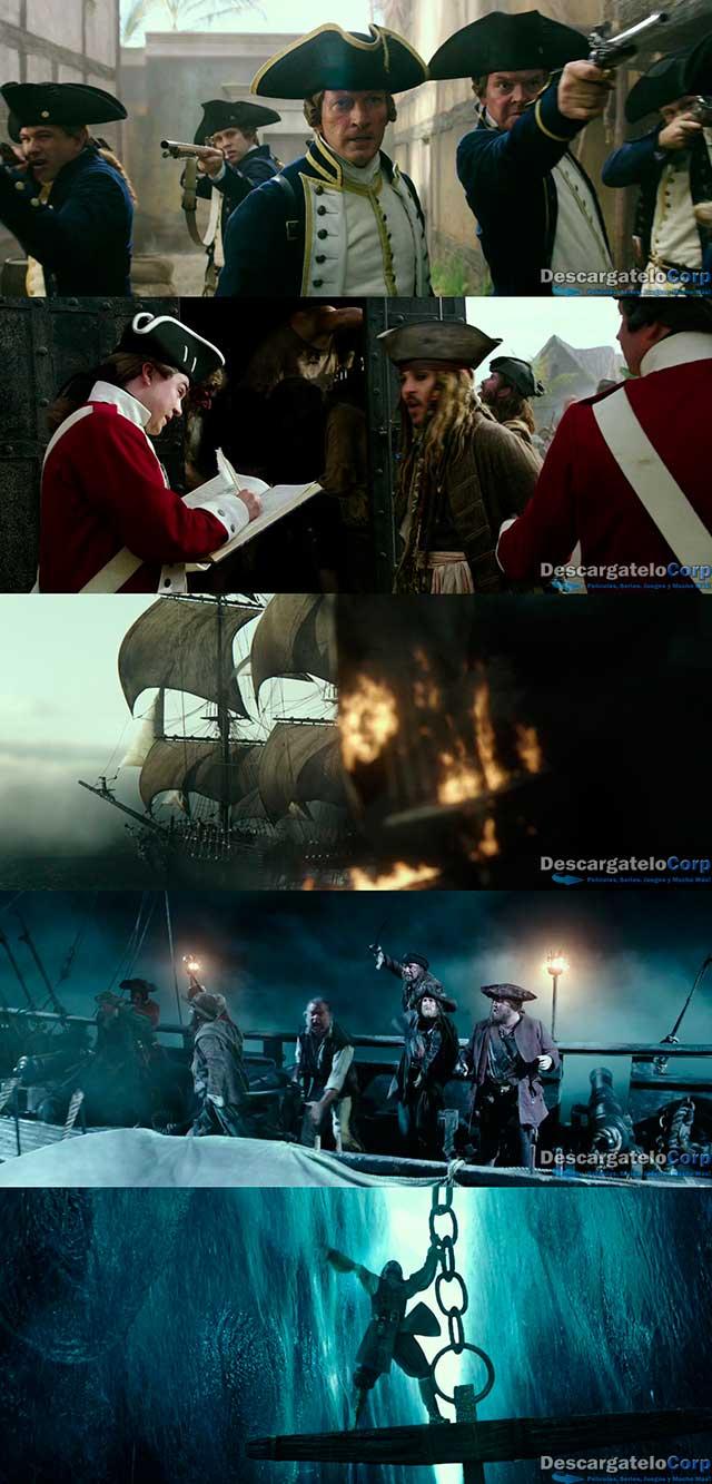 Piratas del Caribe La venganza de Salazar (2017) DVDRip Latino