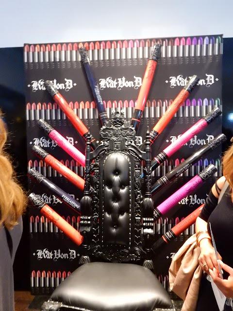 Kat Von D display at The Makeup Show New York 2016 - www.modenmakeup.com