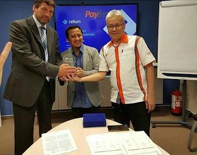 Paytren bekerjasama dengan perusahaan platform transaksi digital asal Hungaria, Cellum.
