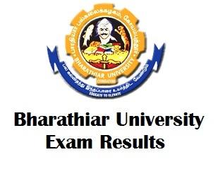 Bharathiar University Degree Results 2017