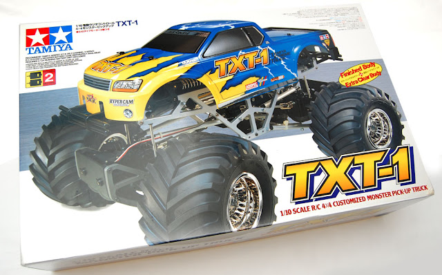 Tamiya TXT-1 box art