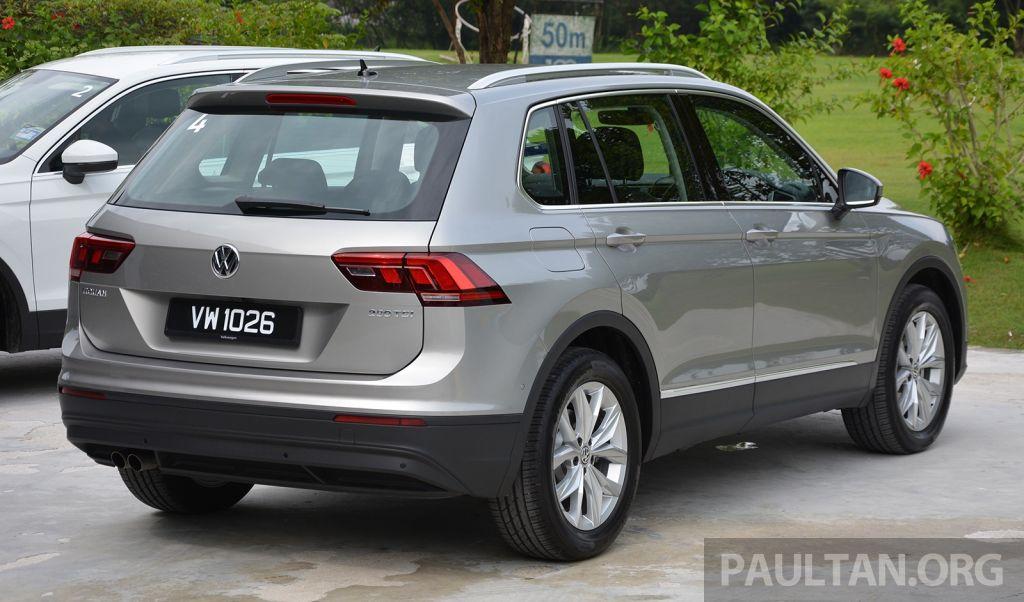 Volkswagen Tiguan 2020 facelift hé lộ thiết kế, thêm biến thể mới