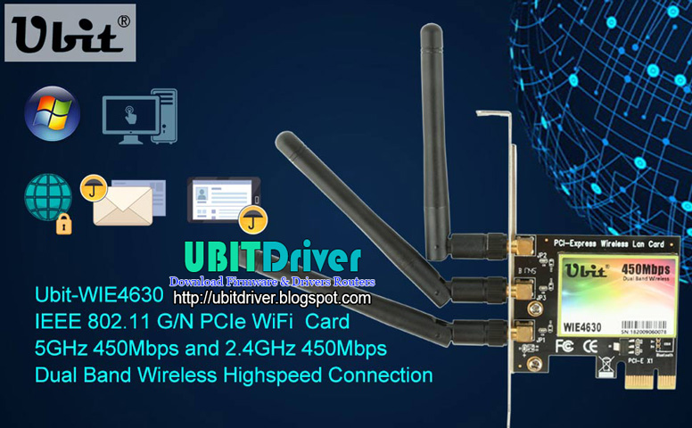Download Driver Ubit WIE4630 All Windows 32&64 Bit