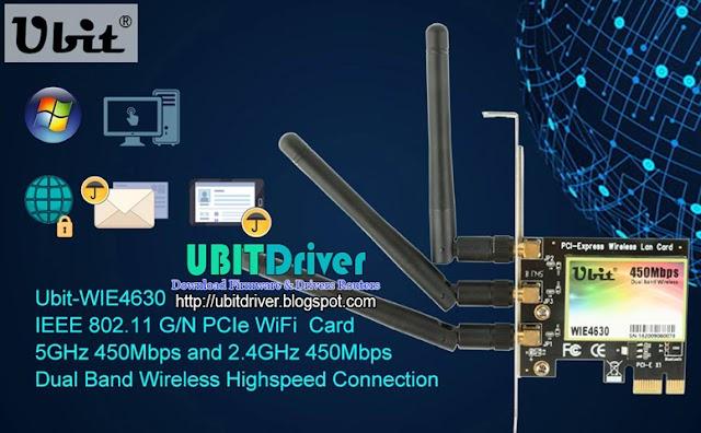 Ubit Driver WIE4630 450Mbps for Windows 32 & 64 Bit