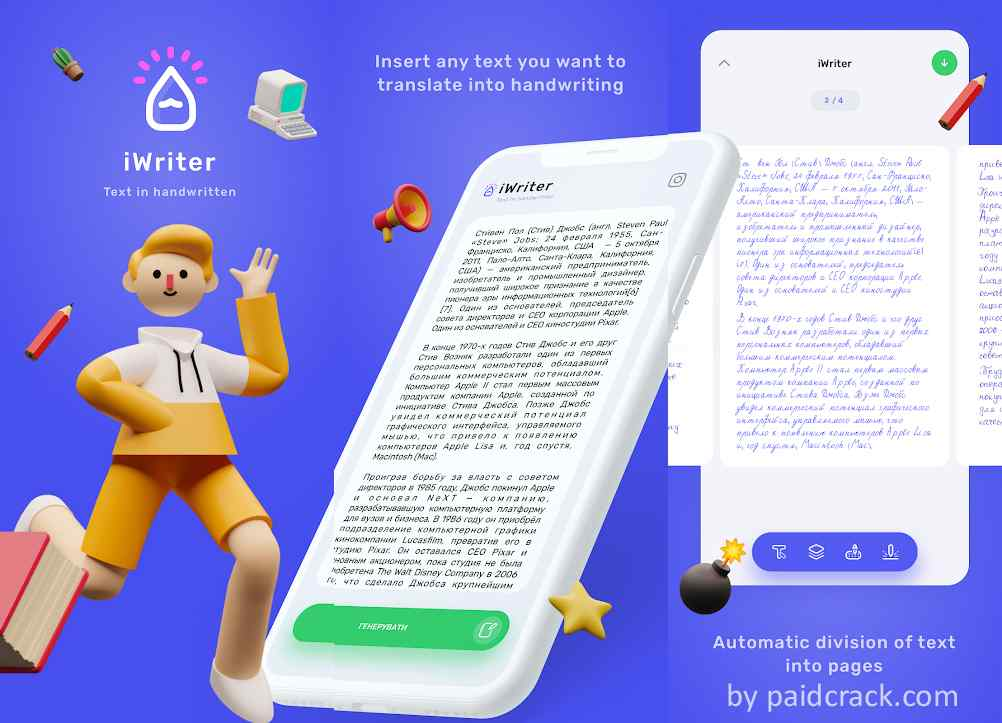 iWriter Mod Apk