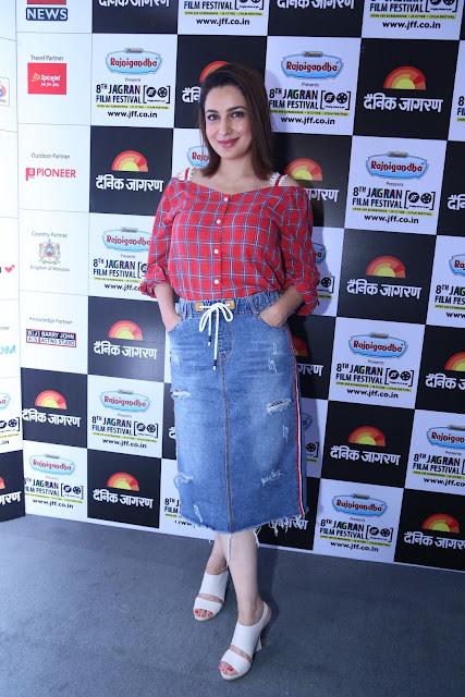 Actor Producer Tisca Chopra during Jagran Film Festival