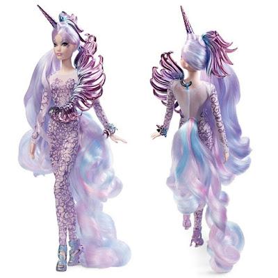 Единорог богиня кукла барби