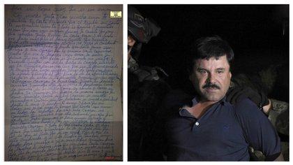 """""""Vivir sin tus palabras es mucha soledad"""": las cartas de amor que el Chapo enviaba a una ex diputada"""