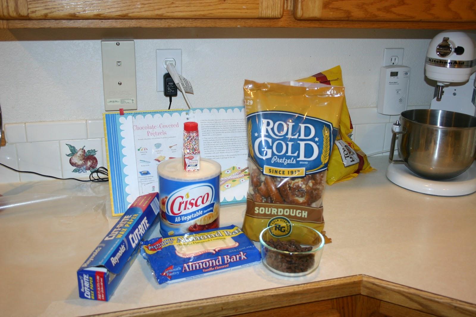 Paula Deen Chocolate Covered Pretzels