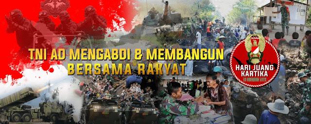 Selamat HUT Juang Kartika TNI AD
