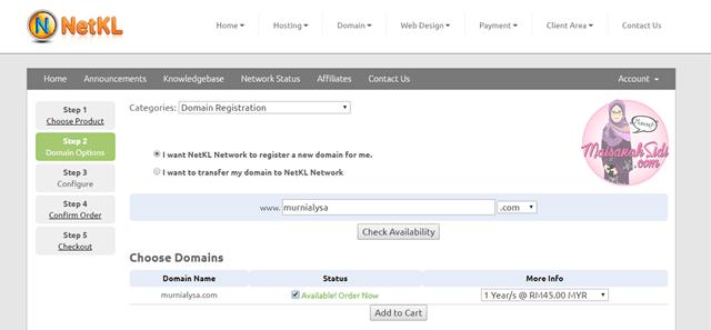 cara beli domain NetKL