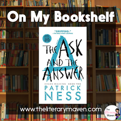 In The Ask and the Answer, the second book in the Chaos Walking series by Patrick Ness, Todd and Violet's adventures continue. But as Mayor Prentiss's power grows, they can't even be sure if they can trust each other. Read on for more of my review and ideas for classroom application.