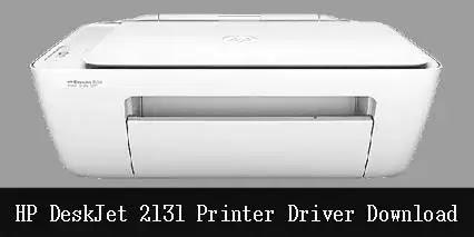 HP DeskJet 2131 Printer Scanner Driver Software Download
