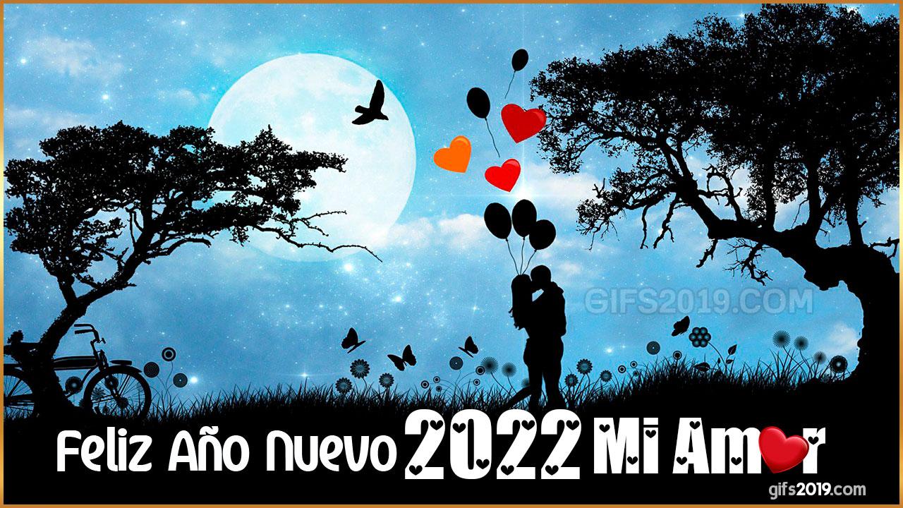 feliz año nuevo mi amor imágenes bonitas