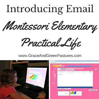 Introducing Email for Elementary Practical Life