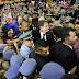 'A Educação liberta', diz, emocionado, Bolsonaro durante discurso em Manaus