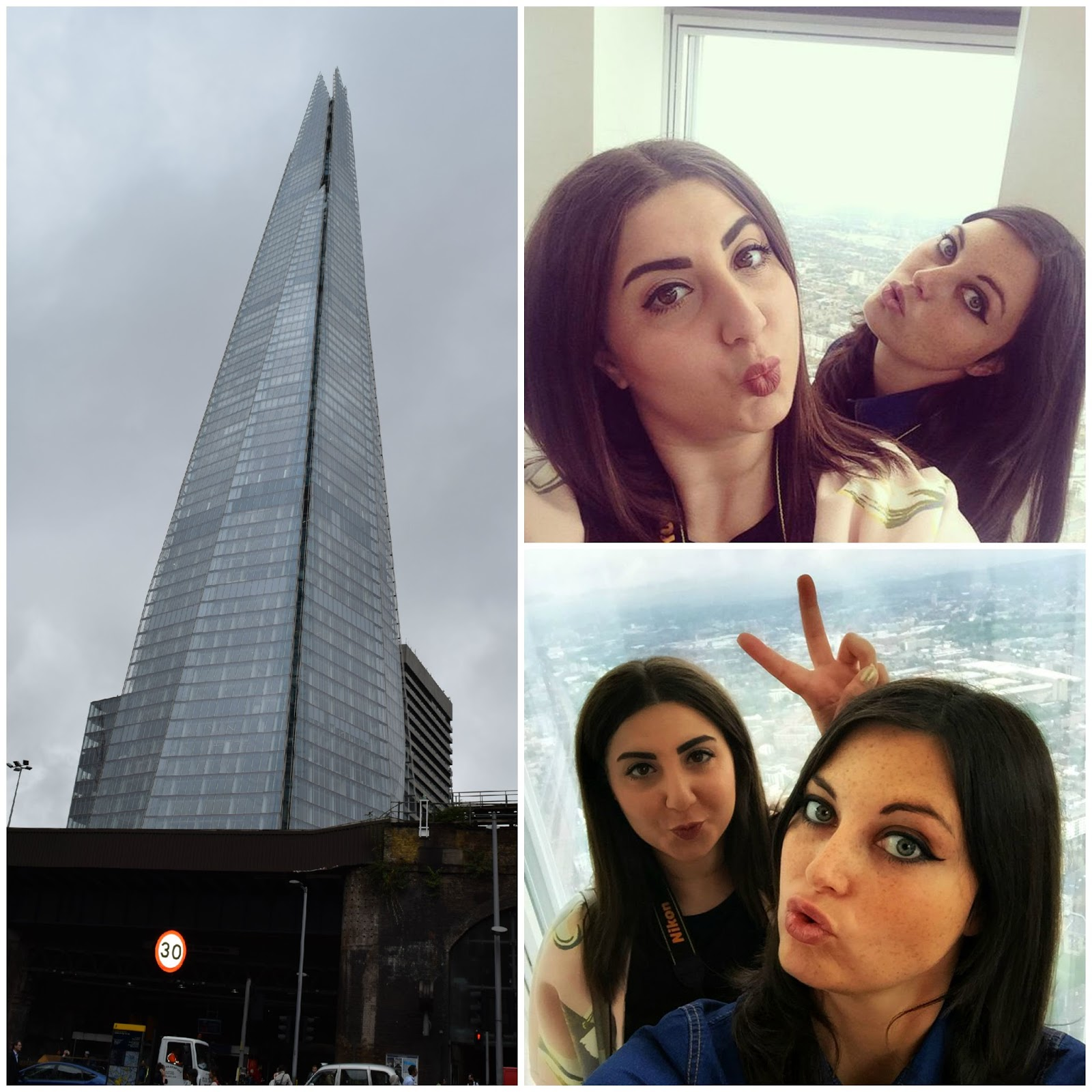 Bloggers go The Shard. Review