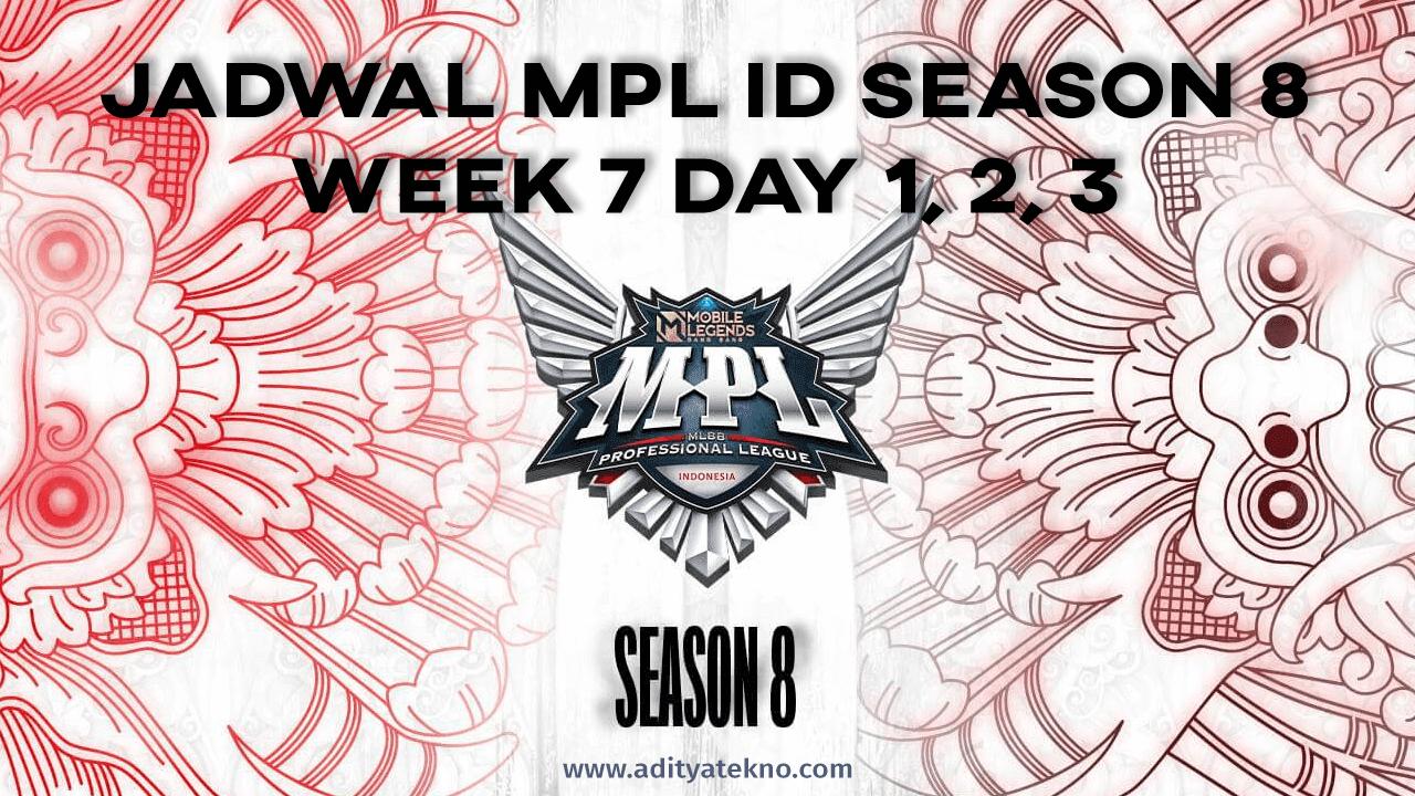 Jadwal MPL ID Season 8 Week 7, Lengkap dari Tanggal 24-26 Sepetember 2021