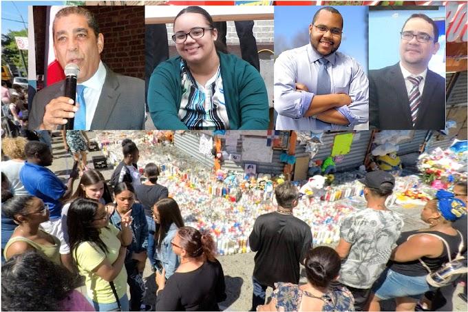 Líderes dominicanos en NY repudian asesinato de estudiante y abogan por leyes drásticas contra pandilleros