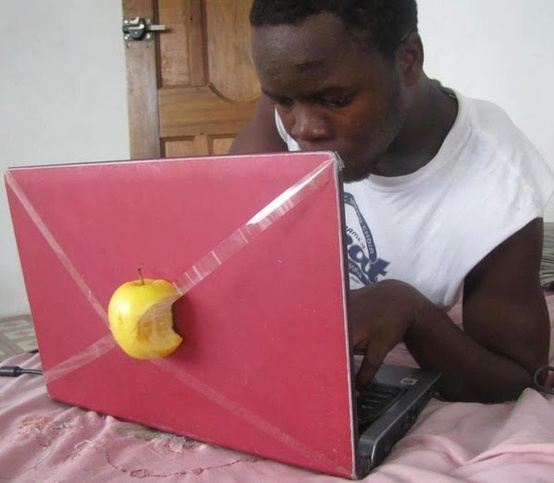 Funny Picture - New Apple MacBook