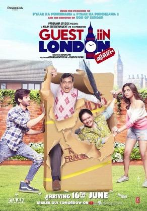 Guest Iin London new upcoming movie first look, Poster of Paresh Rawal, Kartik Aaryan download first look Poster, release date