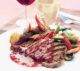 sirloin steaks with port sauce recipe