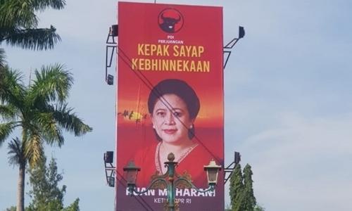 PDIP Pasang Baliho Puan Maharani, Ganjarist: Menunjukkan Selama Ini Tidak Melakukan Apa-apa