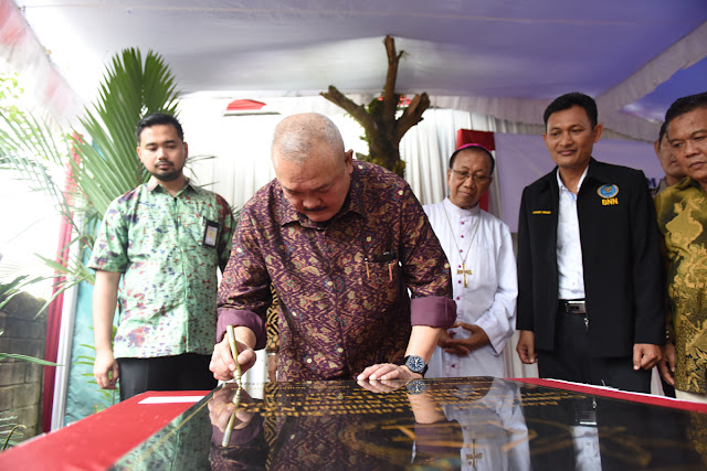 Gubernur Alex Noerdin Resmikan Rehabilitasi NAPZA GAS