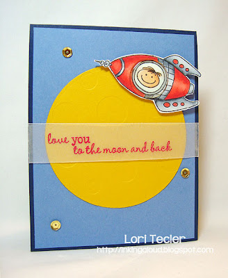 Love You to the Moon and Back-designed by Lori Tecler-Inking Aloud-stamps from Waltzingmouse Stamps