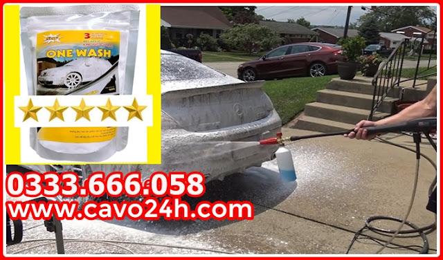 Bột rửa xe không chạm One Wash