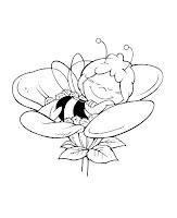 הדבורה מאיה לצביעה
